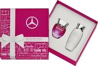 Mercedes-Benz parfum voor vrouwen, Rose, Set van twee